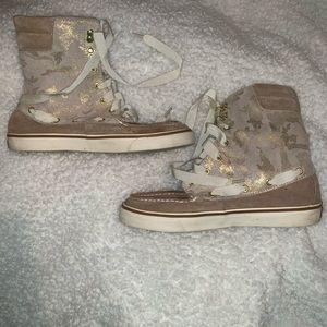 High sperry boots
